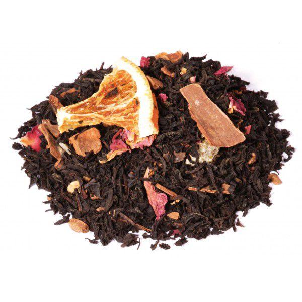té negro naranja canela, té negro