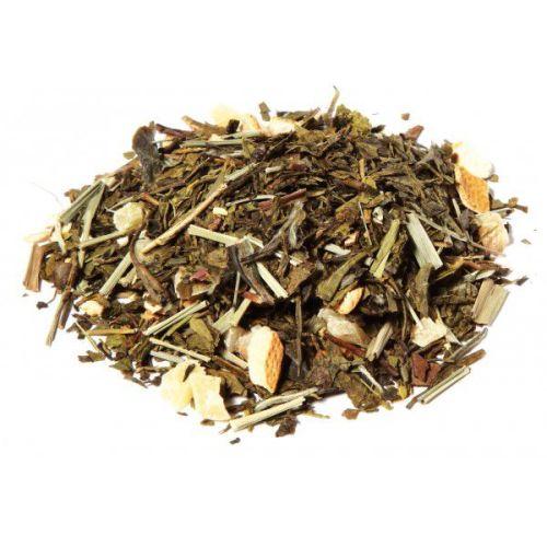 té blanco y verde