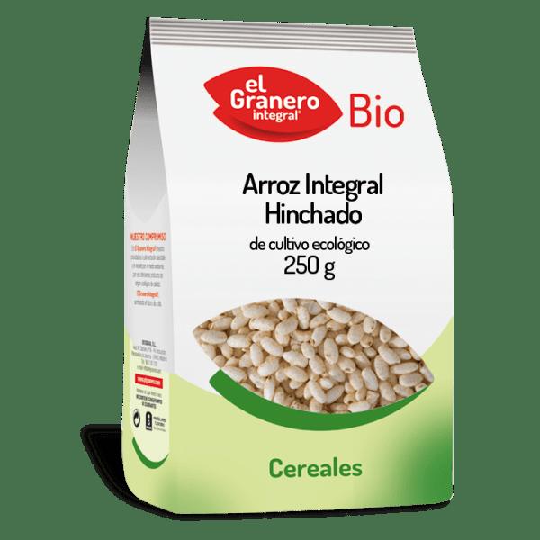 arroz integral hinchado bio