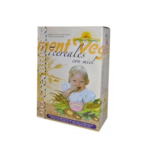 papilla 7 cereales miel bio crecimiento