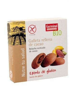 galletas cacao son glúten alérgenos