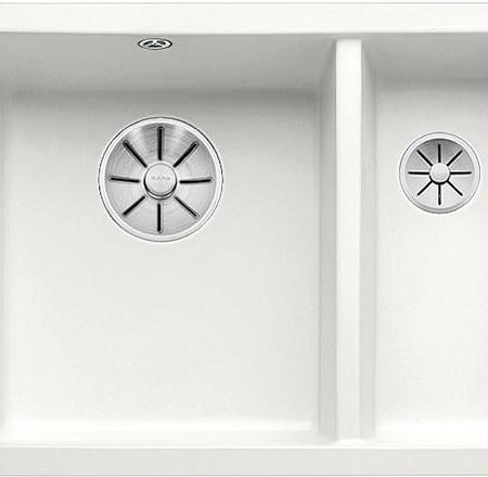 Outlet – BLANCO SUBLINE 350/150-U Ceramic, bela