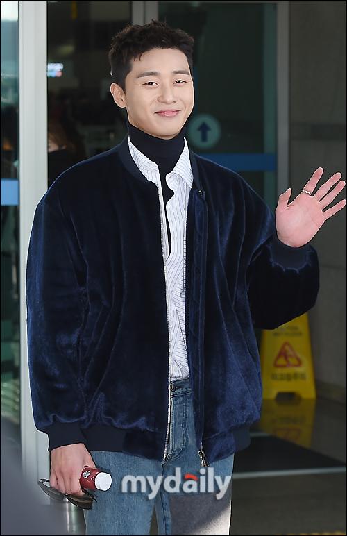 [MD포토] 박서준, '홍콩 잘 다녀올게요'