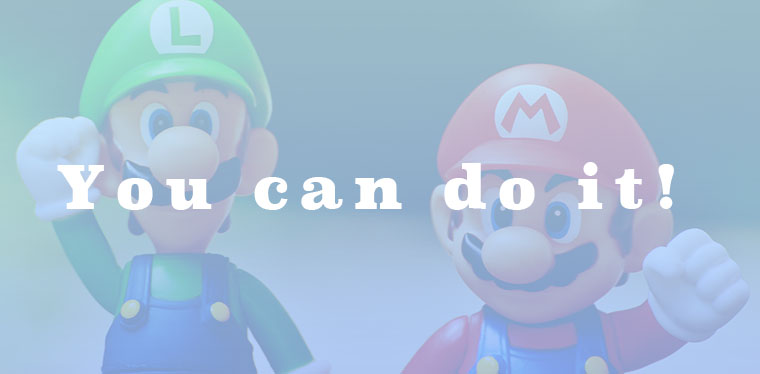 You can do it!イメージ画