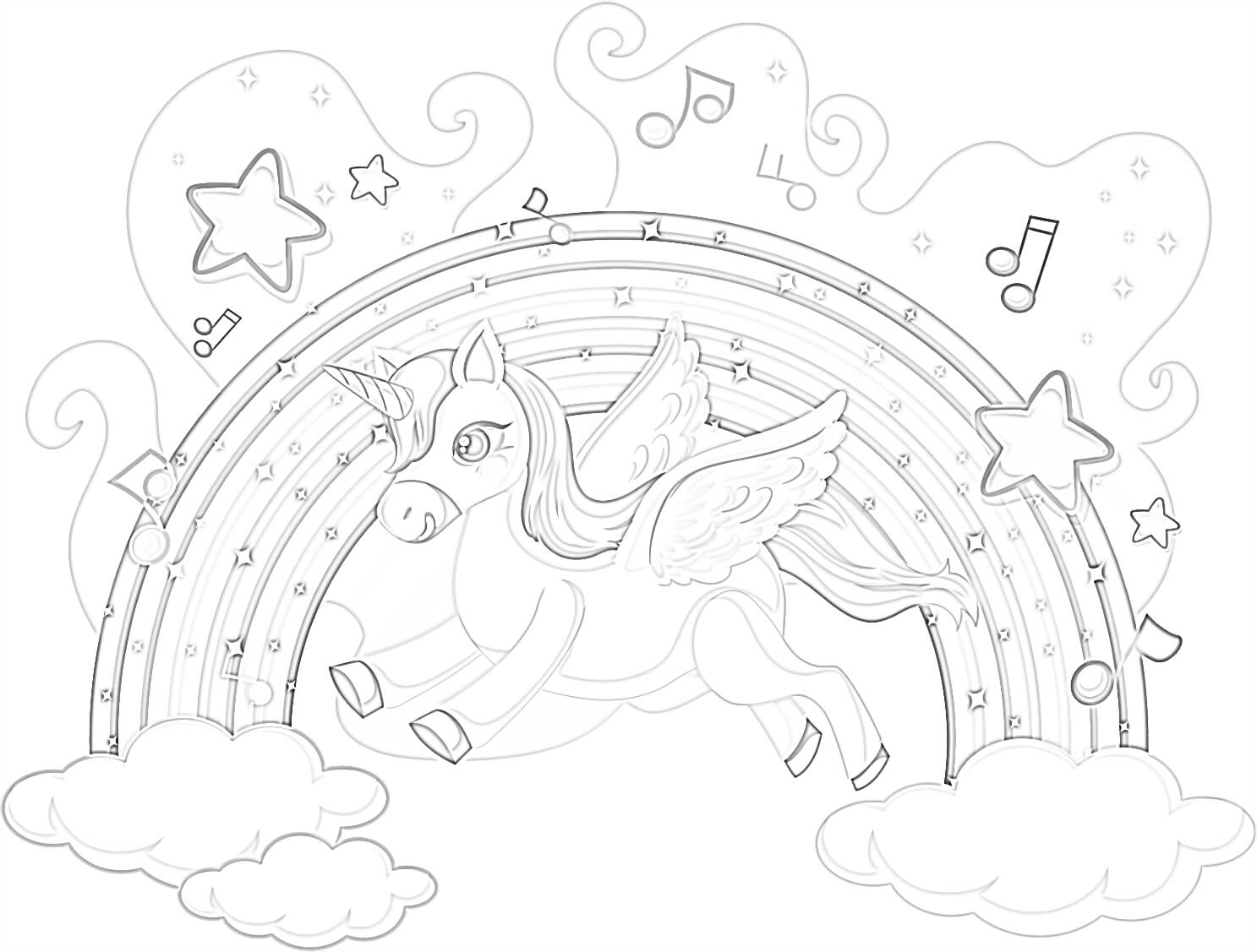 Free Unicorn Coloring Pages The Best Collection In 2020 Mimi Panda