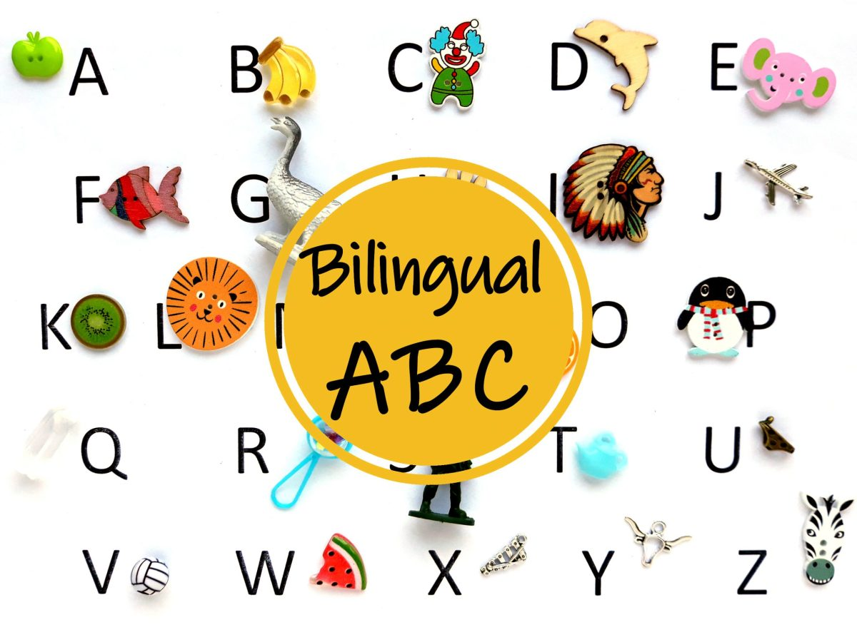 bilingual alphabet objects