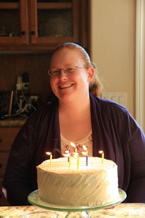 Marianne's birthday cake
