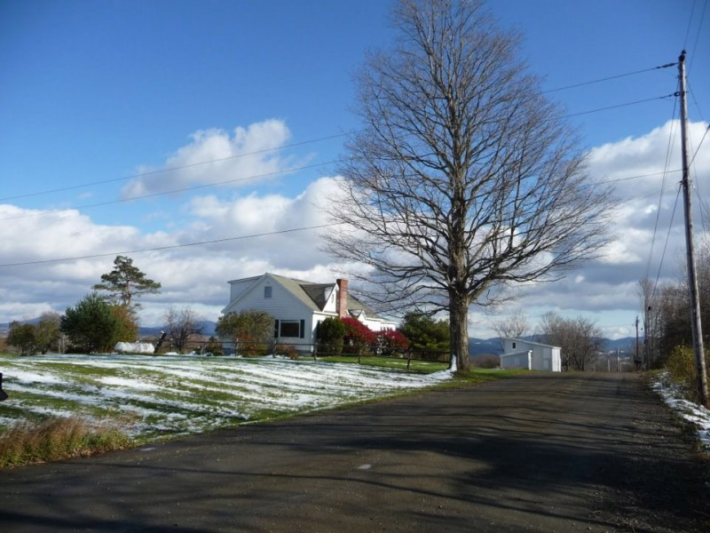 our house in Barre, Vermont