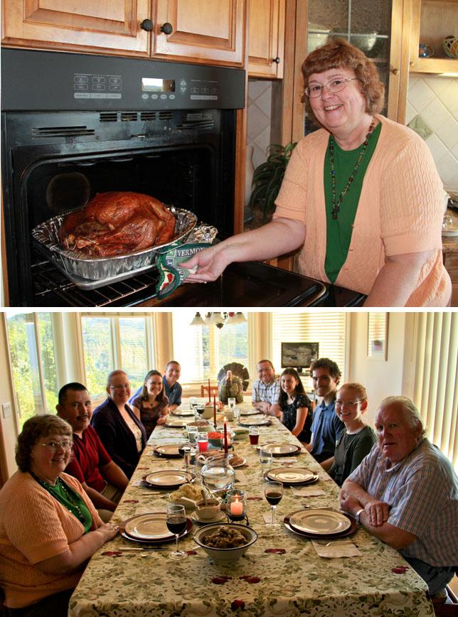 family Thanksgiving photos