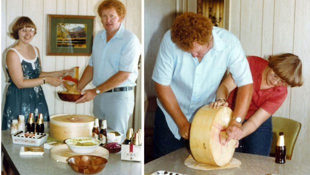 Cheese Cutting Party 1981