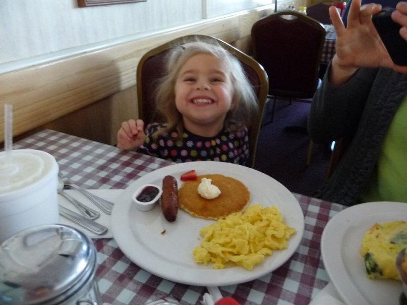 Annie's Cafe pancakes