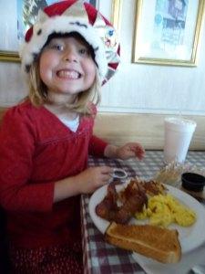 Annie's Cafe breakfast