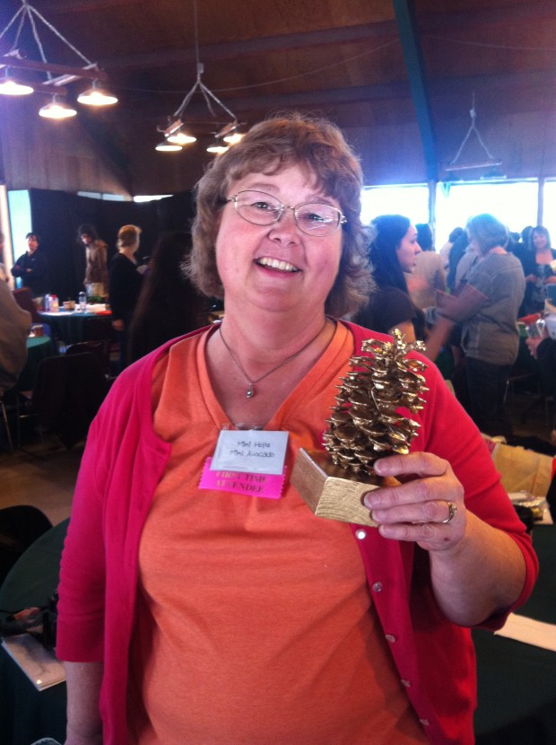 Golden PIne Cone Award Camp Blogaway