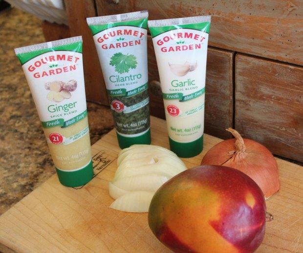 Gourmet Garden, onion, mango