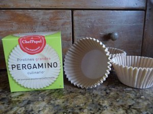 Baking Cups make of parchment