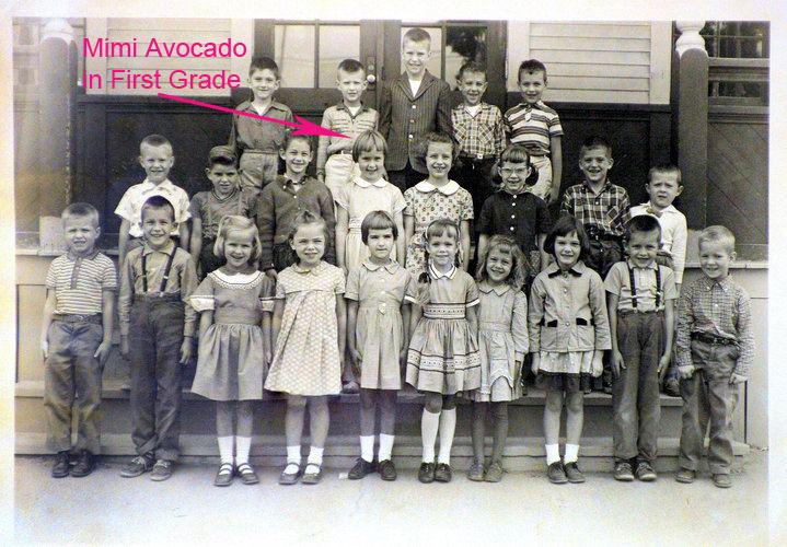 my first grade class