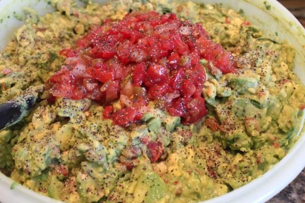 add more salsa and pepper