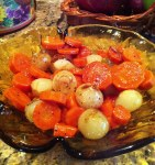 Braised Pearl Onionsa nd Carrots