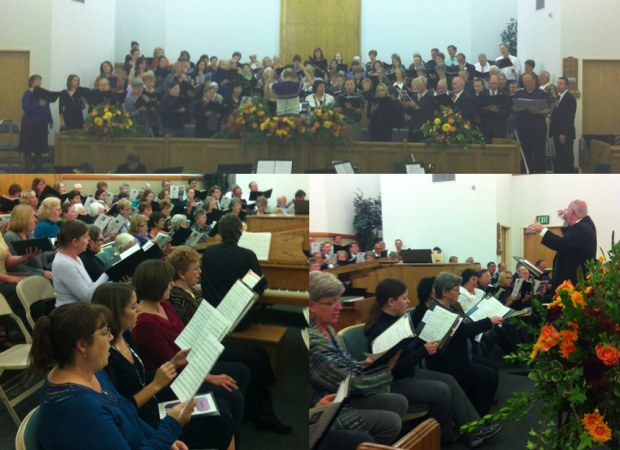 Interfaith Thanksgiving Choir 2012