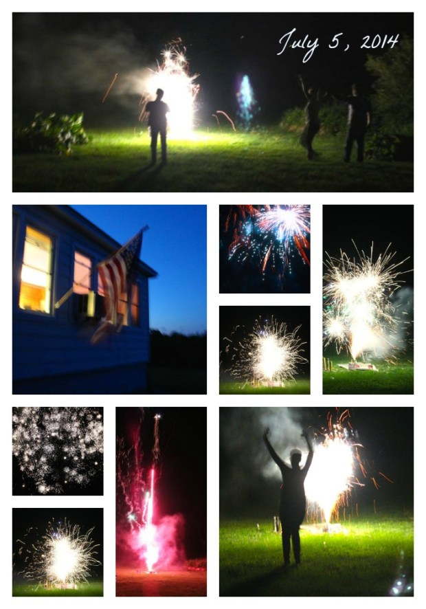 Fireworks-Collage