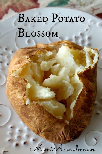 Idaho baked potato blossom