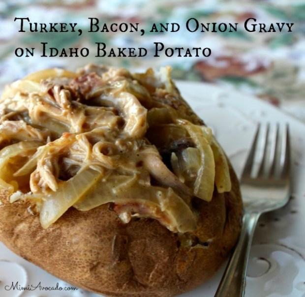Turkey, Bacon, and Onion Gravy