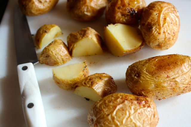 roasted Dutch potatoes