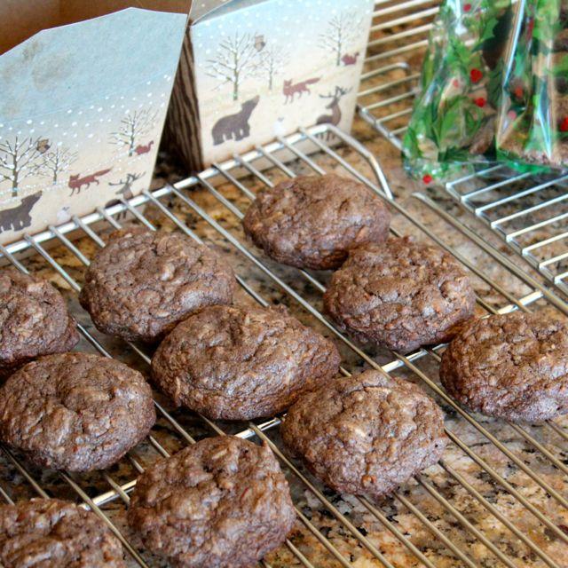 chocolate coconut pecan cookies