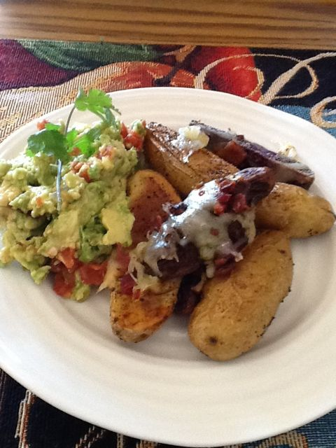 Idaho Fingerlings and Guacamole