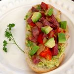 St. Patrick's Corned Beef Hass Avocado Toast
