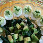 deviled eggs platter