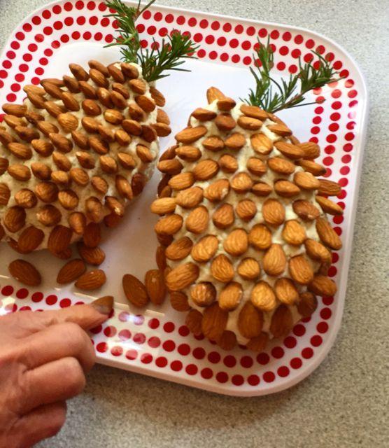 pinecone cheese balls