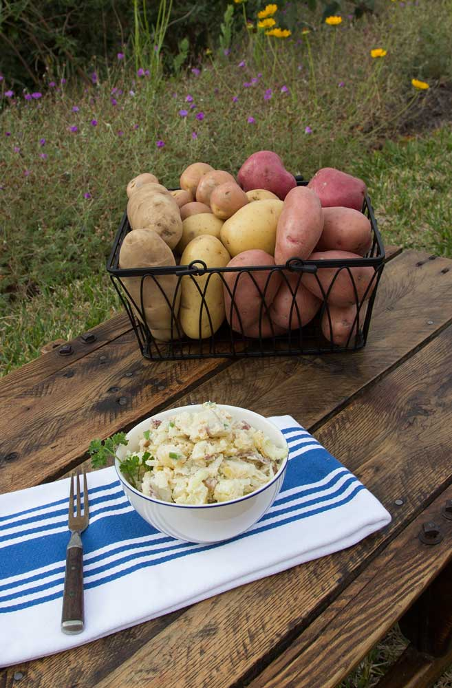 triple potato salad