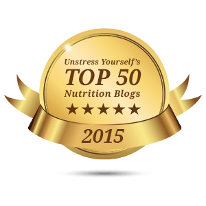 top 50 nutrition blog from unstressyourself.com