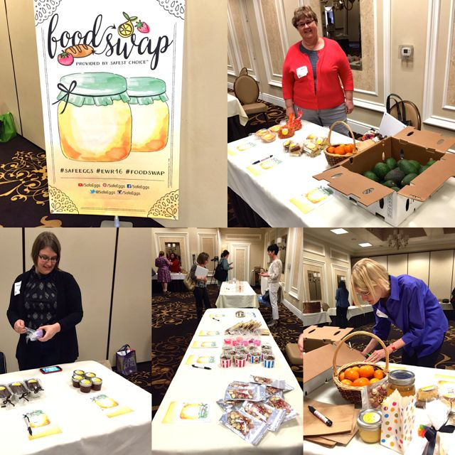 Food Swap event at Eat Write Retreat 2016