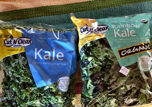 ready to eat kale