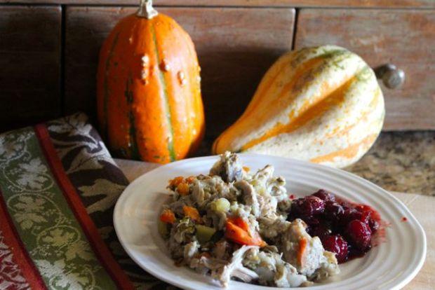 Cheaters' Thanksgiving Casserole