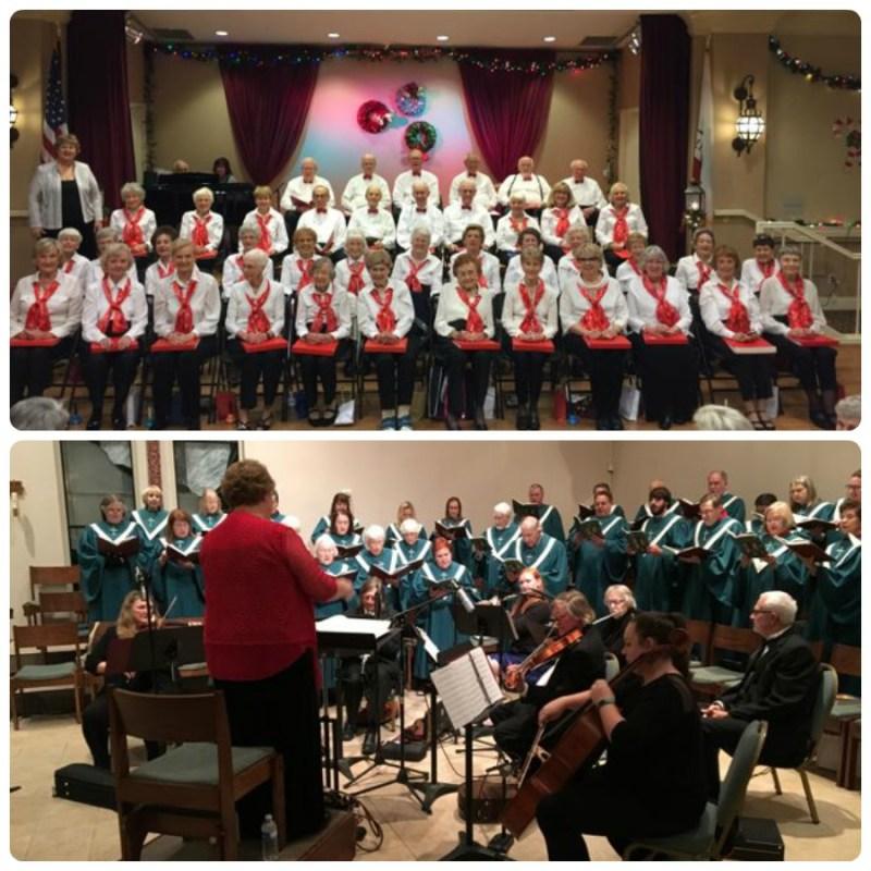 Glenaires and St. Tim's Choir