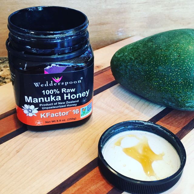 Raw Manuka Honey from Wedderspoon