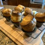 popovers hot from the oven