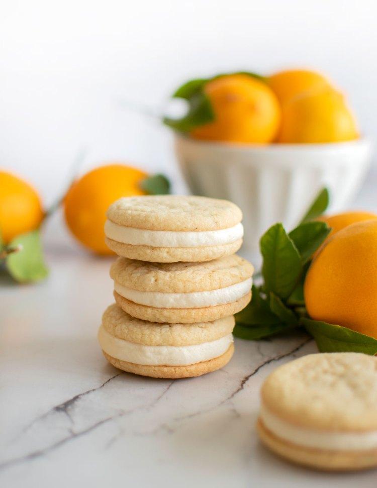 lemon rosemary sandwich cookie recipe, lemon rosemary, lemon cookies, the best lemon cookies, easy lemon rosemary cookies, spring cookie recipes, easy lemon cookie recipe, high altitude lemon cookie recipe, high altitude cookie recipe, high altitude sandwich cookies