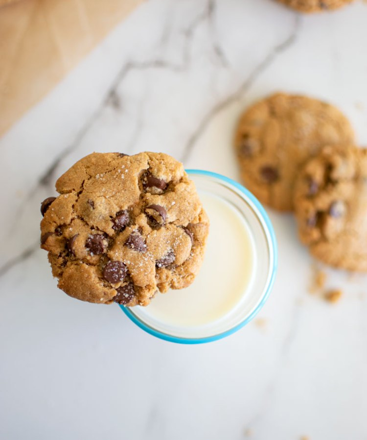 Easy Peanut Butter Chocolate Chip Cookies, healthy peanut butter cookies, organic peanut butter cookies, chocolate chip cookies, gluten free peanut butter cookies #organic #glutenfree #highaltitudebaking #highaltitude #peanutbuttercookies