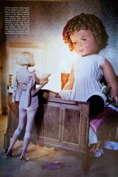 tim walker bed doll