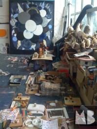 mimi berlin studio visit: Victor Roerade