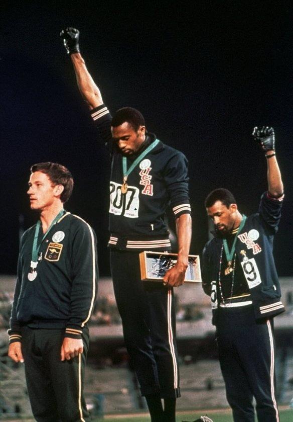 black power salute mexico games 1968