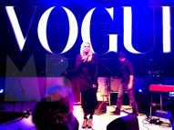 There was a speach: Karin Swerink, Editor in chief of Vogue Nederland.