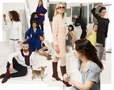 Mimi Berlin's Fashion Fest #1, From left to right: Mimi Berlin, January 2013.