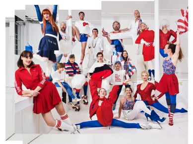 Mimi Berlin's Fashion Fest #3, From left to right: Mimi Berlin, November 2016.