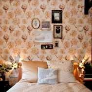 Mimi Berlin Prints. Paper products. 'Love Phil' Wallpaper designed by Mimi Berlin. (For the Mimi Berlin room at Hotel Modez interior decoration by a-MB-iance and Beja von Bis)