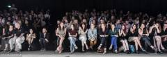 Front row at Anne de Grijff at Amsterdam Fashion Week, July 15, 2013